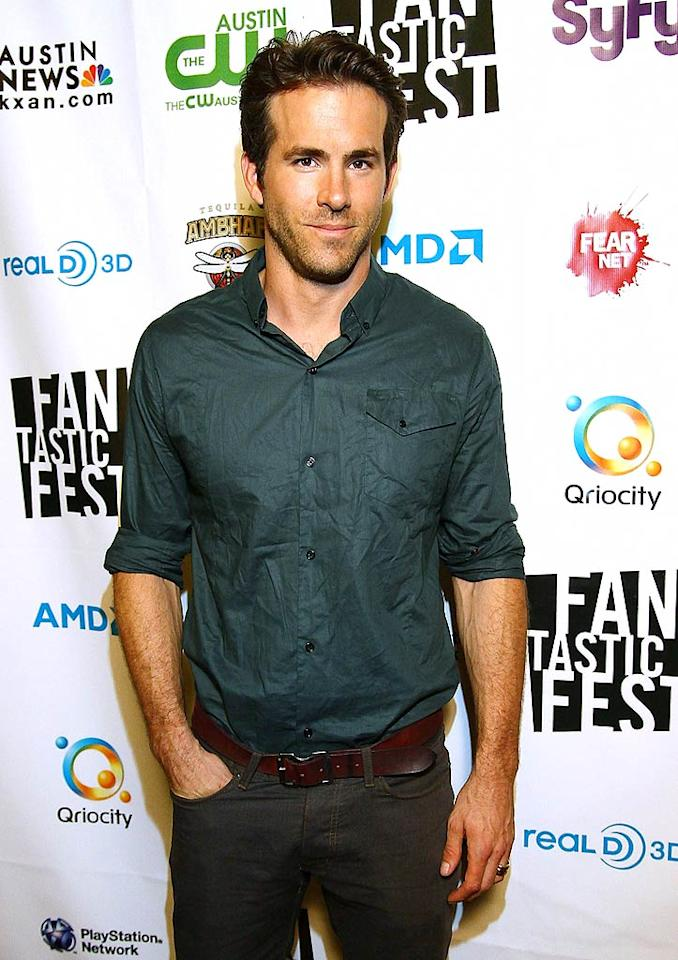 """Ryan Reynolds was named <i>People</i>'s Sexiest Man Alive for 2010, but the hot-yet-humble actor didn't let the title go to his head. """"You just have to go with the flow,"""" he said. """"This gives my family entre into teasing me for the rest of my life."""" Jay West/<a href=""""http://www.wireimage.com"""" target=""""new"""">WireImage.com</a> - September 23, 2010"""