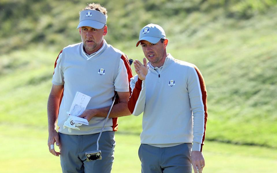 Rory and Poulter
