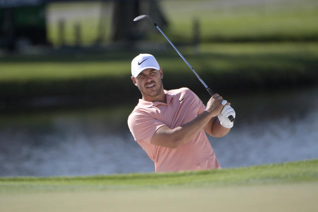 Brooks Koepka had a rough day on Saturday at Bay Hill, finishing with his worst score ever on the PGA Tour. (AP/Phelan M. Ebenhack)