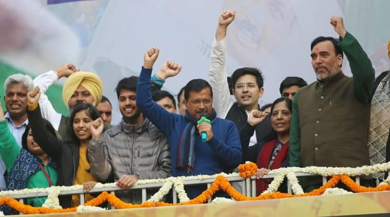 Delhi election results highlights: 'Ghazab kar diya aap logon ne,' Kejriwal tells Delhiites after victory