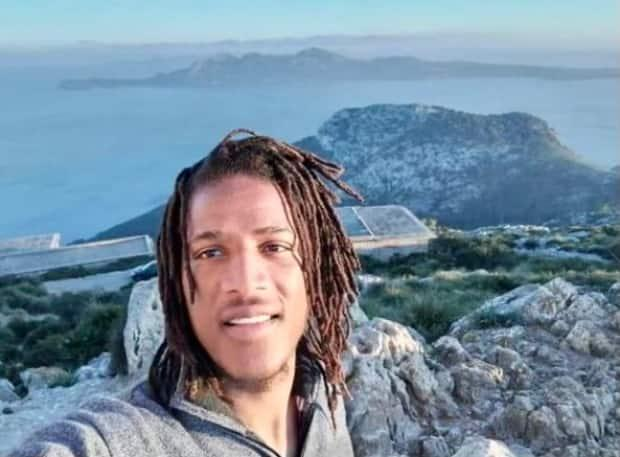 The family of Karin Marley Simons, 32, are pleading for him to come forward. (Submitted by Laurie Gonsalves - image credit)