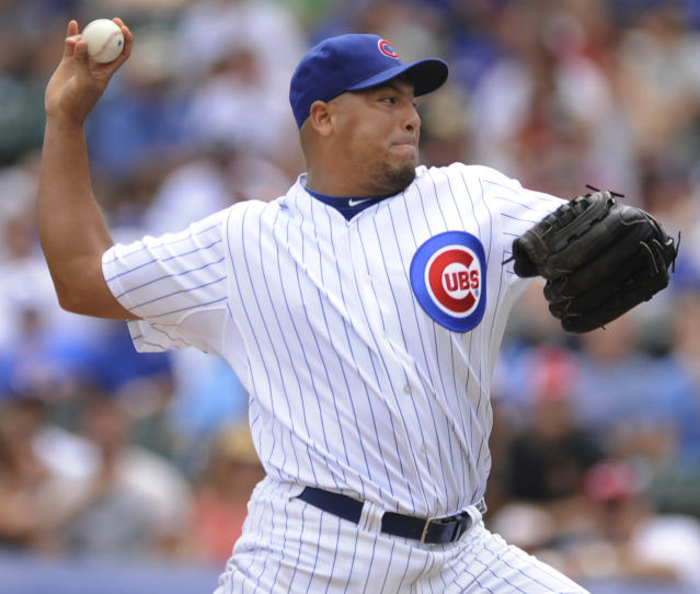 Carlos Zambrano is going to try and make a comeback at 37 years old. (AP Photo)