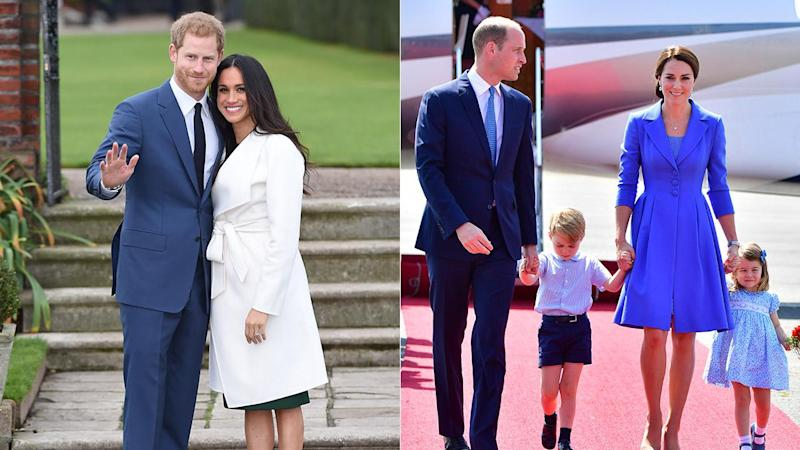 It's been a year of firsts for the British royal family.