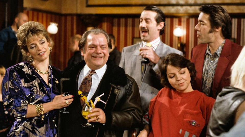 John Challis (back) in Only Fools and Horses