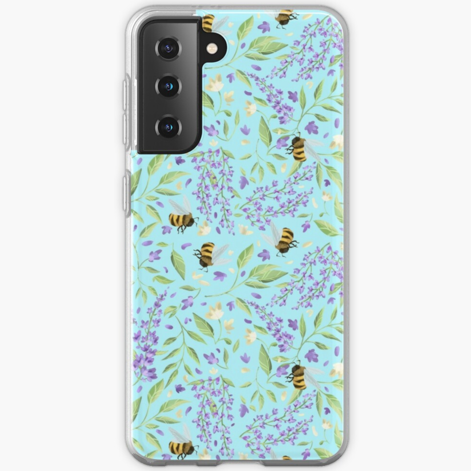 """<p><strong>Samsung</strong></p><p>redbubble.com</p><p><strong>$22.75</strong></p><p><a href=""""https://go.redirectingat.com?id=74968X1596630&url=https%3A%2F%2Fwww.redbubble.com%2Fi%2Fsamsung-case%2FBees-and-Wisteria-by-EnchantedStudio%2F70754936.X4ZCI&sref=https%3A%2F%2Fwww.goodhousekeeping.com%2Fholidays%2Fgift-ideas%2Fg37622708%2Fbridgerton-gifts%2F"""" rel=""""nofollow noopener"""" target=""""_blank"""" data-ylk=""""slk:Shop Now"""" class=""""link rapid-noclick-resp"""">Shop Now</a></p><p>Nothing says<em> Bridgerton</em> like bumblebees (remember the season 1 finale?) and lots and lots of dreamy wisteria. Decorate your phone with this durable and flexible case, which comes in 21 different sizes for Samsung devices. Good news, the pattern is also <a href=""""https://go.redirectingat.com?id=74968X1596630&url=https%3A%2F%2Fwww.redbubble.com%2Fi%2Fiphone-case%2FBees-and-Wisteria-by-EnchantedStudio%2F70754936.PGM2E&sref=https%3A%2F%2Fwww.goodhousekeeping.com%2Fholidays%2Fgift-ideas%2Fg37622708%2Fbridgerton-gifts%2F"""" rel=""""nofollow noopener"""" target=""""_blank"""" data-ylk=""""slk:available for iPhone devices"""" class=""""link rapid-noclick-resp"""">available for iPhone devices</a>. </p>"""