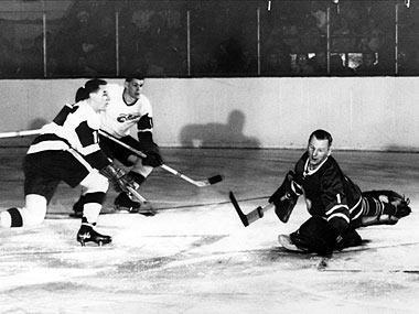 How long has it been since the Leafs won a Stanley Cup? (Hint: Johnny Bower was the goalie.)