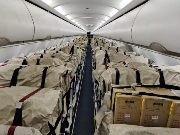 300 oxygen concentrators from Hong Kong reach India (Photo/ANI)