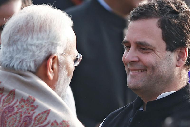 On 4th Anniversary, Modi Govt Gets A+ from Rahul Gandhi in 2 'Subjects'