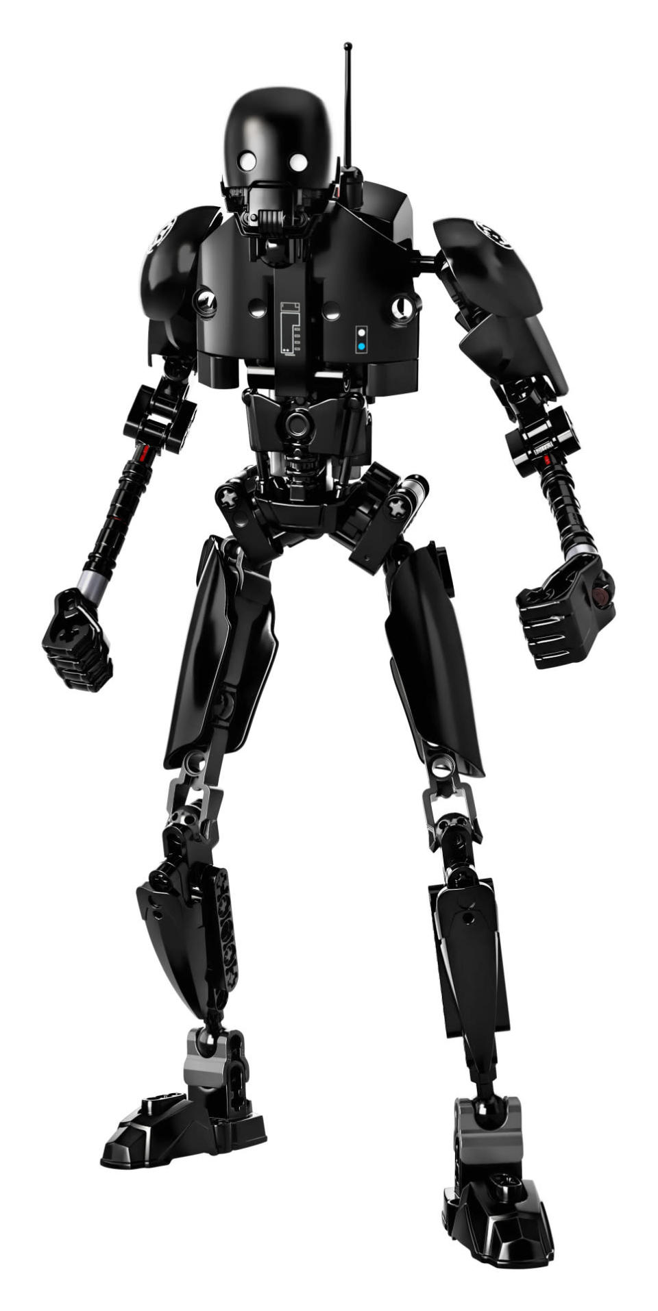 <p>Cassian Andor's reprogrammed Imperial security droid features arm-chopping action. You'll need to provide your own Alan Tudyk-esque quips while dispatching foes. ($24.99)</p>