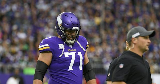 Mike Zimmer 'open' to moving Riley Reiff to LG. Somewhere, Mike Remmers shakes his head in amazement
