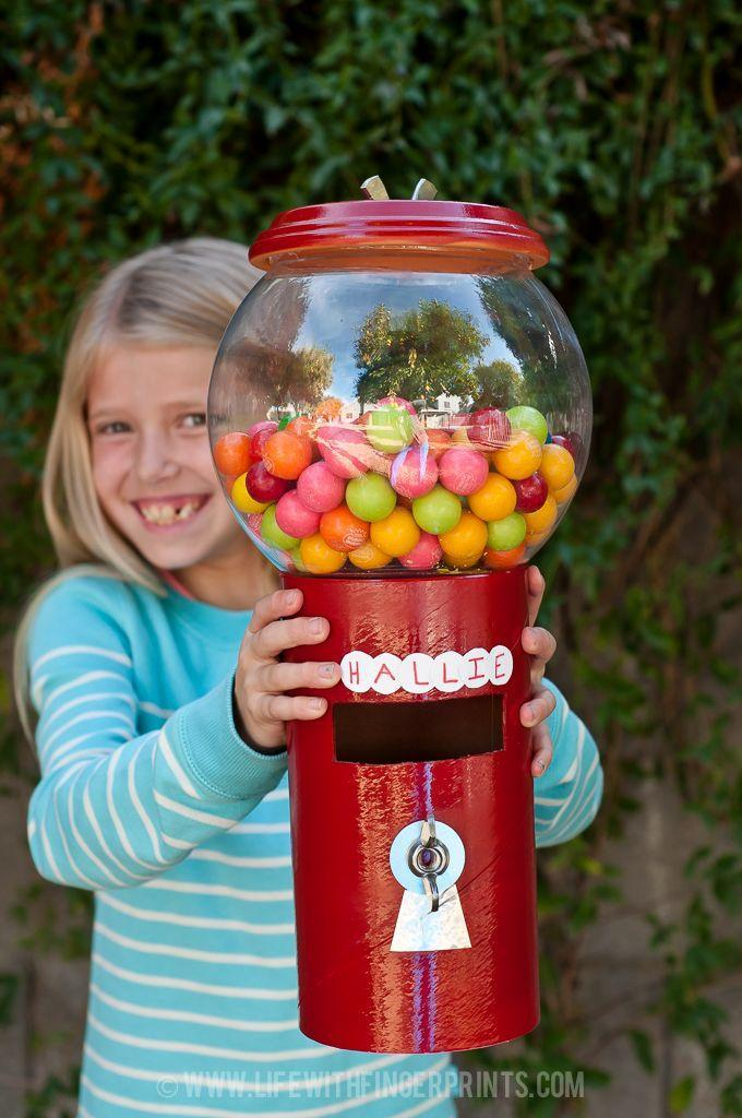 "<p>In keeping with the candy theme, craft a Valentine's Day box inspired by a gumball machine! This one starts with an empty oatmeal canister and a plastic fish bowl. The best part: Your little one will love giving gumballs to his or her friends!</p><p><strong>Get the tutorial at <a href=""http://lifewithfingerprints.com/2014/02/valentines-day-gumball-machine.html/"" rel=""nofollow noopener"" target=""_blank"" data-ylk=""slk:Life With Fingerprints"" class=""link rapid-noclick-resp"">Life With Fingerprints</a>.</strong></p><p><strong><a class=""link rapid-noclick-resp"" href=""https://www.amazon.com/slp/plastic-fish-bowls/q55cz73rqtjs9aa?tag=syn-yahoo-20&ascsubtag=%5Bartid%7C10050.g.25844424%5Bsrc%7Cyahoo-us"" rel=""nofollow noopener"" target=""_blank"" data-ylk=""slk:SHOP FISH BOWLS"">SHOP FISH BOWLS</a><br></strong></p>"