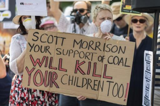 Prime Minister Scott Morrison's overseas holiday amid the fire crisis prompted street protests