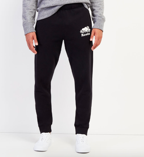 Park Slim Sweatpant. Image via Roots.
