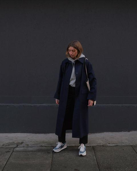 "<p>Brittany Bathgate layers street style with an immaculate trench coat.</p><p><a class=""link rapid-noclick-resp"" href=""https://go.redirectingat.com?id=127X1599956&url=https%3A%2F%2Fwww.stories.com%2Fen_gbp%2Fclothing%2Ftops%2Fsweatshirts-hoodies%2Fproduct.oversized-boxy-hooded-sweatshirt-grey.0854577001.html&sref=https%3A%2F%2Fwww.elle.com%2Fuk%2Ffashion%2Fwhat-to-wear%2Fg34367820%2Fautumn-outfits%2F"" rel=""nofollow noopener"" target=""_blank"" data-ylk=""slk:SHOP HOODY NOW"">SHOP HOODY NOW </a></p><p><a class=""link rapid-noclick-resp"" href=""https://kassleditions.com/products/original-navy-trench-with-hood-below-the-knee"" rel=""nofollow noopener"" target=""_blank"" data-ylk=""slk:SHOP TRENCH NOW"">SHOP TRENCH NOW </a></p><p><a class=""link rapid-noclick-resp"" href=""https://go.redirectingat.com?id=127X1599956&url=https%3A%2F%2Fwww.net-a-porter.com%2Fen-gb%2Fshop%2Fproduct%2Fnike%2Fdaybreak-sp-faux-suede-and-ripstop-sneakers%2F1291531&sref=https%3A%2F%2Fwww.elle.com%2Fuk%2Ffashion%2Fwhat-to-wear%2Fg34367820%2Fautumn-outfits%2F"" rel=""nofollow noopener"" target=""_blank"" data-ylk=""slk:SHOP TRAINERS NOW"">SHOP TRAINERS NOW</a></p><p><a href=""https://www.instagram.com/p/CGMnZmkhl6g/"" rel=""nofollow noopener"" target=""_blank"" data-ylk=""slk:See the original post on Instagram"" class=""link rapid-noclick-resp"">See the original post on Instagram</a></p>"