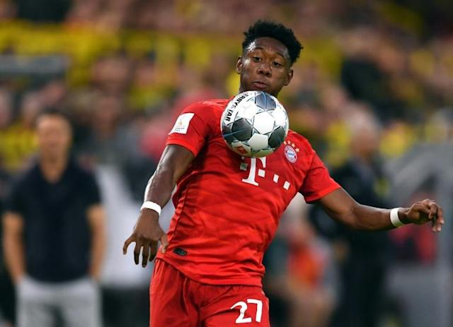 Bayern Munich's Austrian defender David Alaba has urged the club to make more signings before the transfer window closes on September 2 (AFP Photo/Marius Becker)