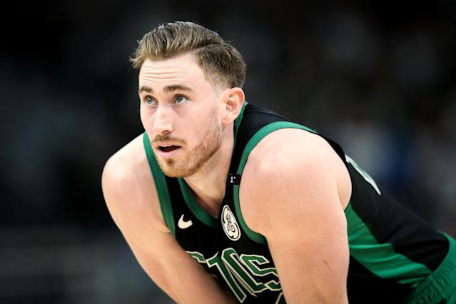 Fantasy drafters will be banking on Gordon Hayward returns to form this season. (Photo by Dylan Buell/Getty Images)