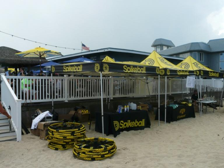 The concept was reborn in 2007 when a young Chicago entrepreneur named Chris Ruder began to sell gear for the game from his company named Spikeball