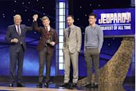 """<p>If you buzz in early, you'll get a delay and will lose out on the question. """"It's about reflexes, not speed,"""" Ken Jennings told <a href=""""https://www.cracked.com/personal-experiences-1582-6-inside-facts-about-jeopardy-from-74-episode-winner.html"""" rel=""""nofollow noopener"""" target=""""_blank"""" data-ylk=""""slk:Cracked"""" class=""""link rapid-noclick-resp"""">Cracked</a>. """"You have to buzz at the exact second the buzzer goes live.""""</p>"""