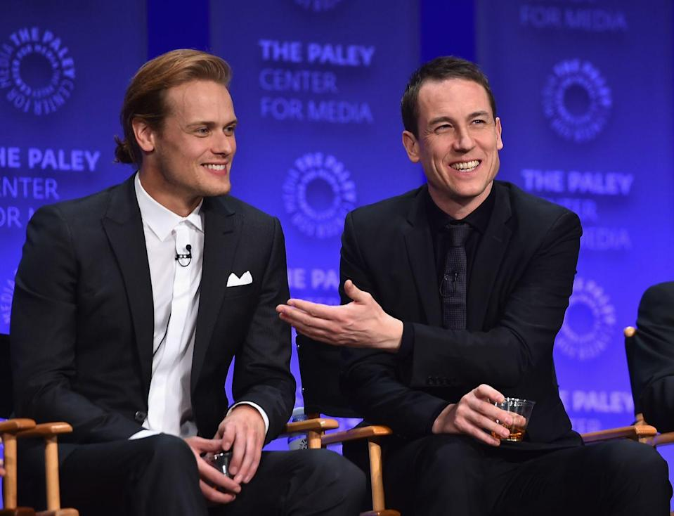 """<p>""""We would sort of keep to ourselves between shots. But again, one of the good things is how we had been working together for a year so we had a fair amount of trust,"""" he explained to <em><a href=""""http://ew.com/article/2016/02/26/outlander-sam-heughan-tobias-menzies-rape-scene/"""" rel=""""nofollow noopener"""" target=""""_blank"""" data-ylk=""""slk:Entertainment Weekly."""" class=""""link rapid-noclick-resp"""">Entertainment Weekly.</a></em></p>"""