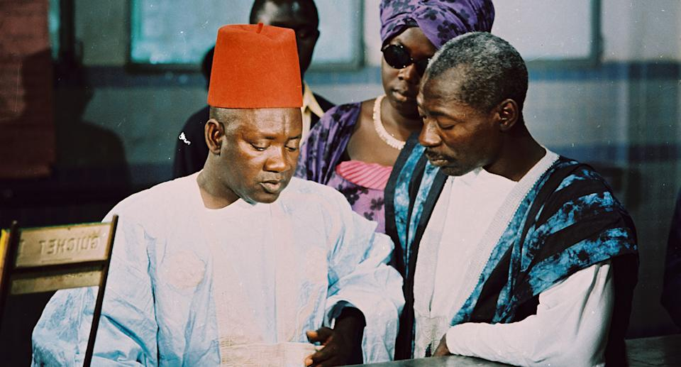Directed, written and produced by the legendary, 'father of African cinema' Ousmane Sembène, the film was originally made in 1968 where it won the Special Jury Prize at Venice Film Festival. (Studiocanal)