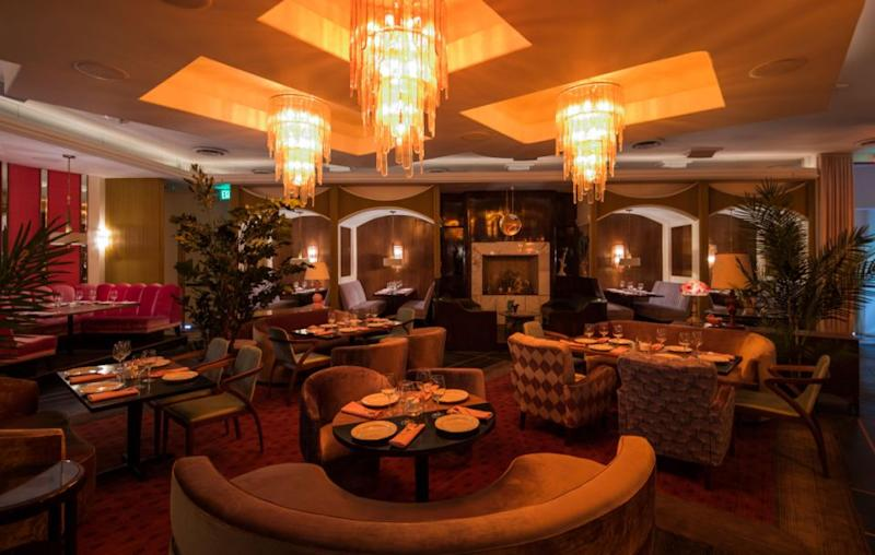 Owned by h.wood Group's John Terzian & Brian Toll, Delilah is a hybrid restaurant and bar in LA. Source: Elizabeth Daniels