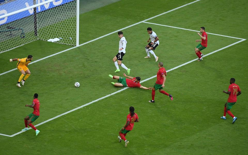 Havertz scores for Germany - GETTY IMAGES
