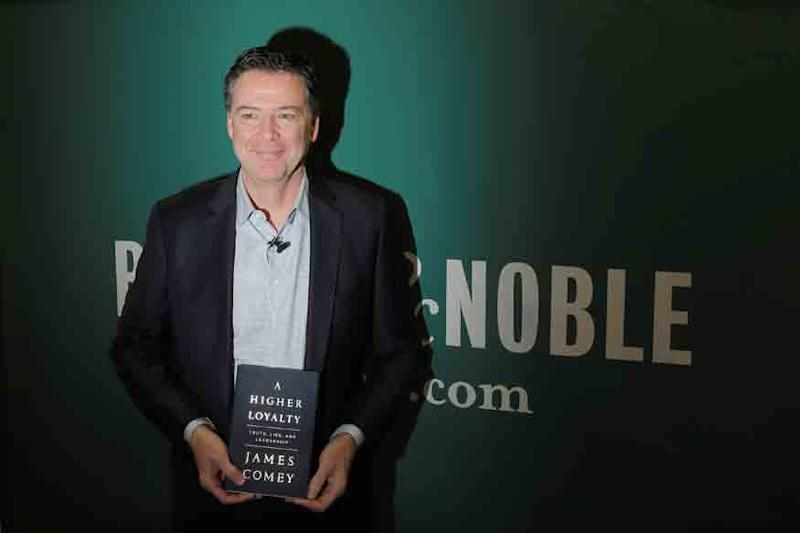 Fired FBI Chief James Comey's Tell-All Book Sells 600,000 Copies in First Week