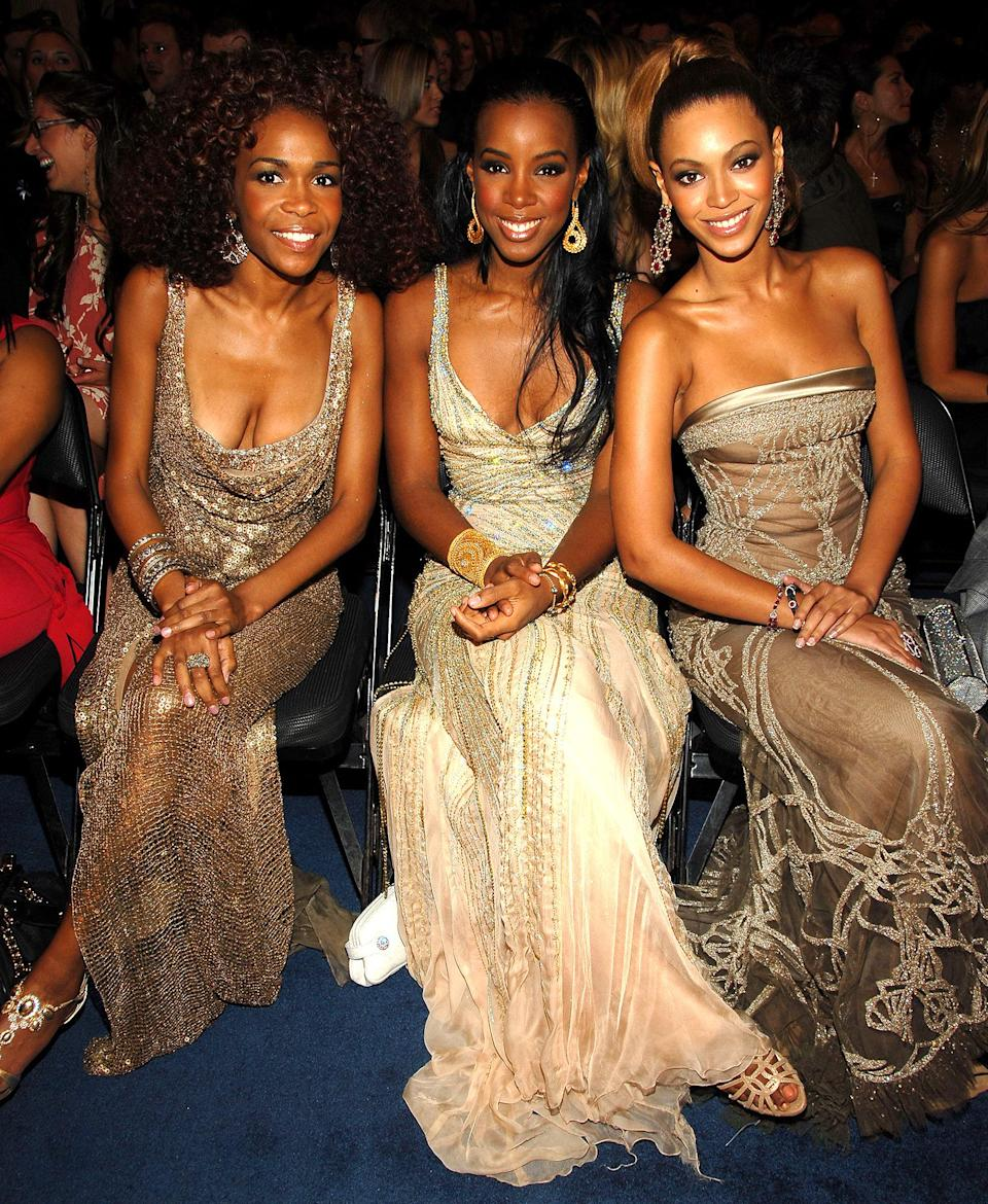 "<p>In 2006, Beyoncé was nominated with Destiny's Child again for their album <em>Destiny Fulfilled</em> and songs ""Cater 2 U"" and ""Soldier,"" but took home the prize for best R&B performance by a duo for her collaboration with Stevie Wonder on ""So Amazing.""</p> <p><strong>Beyoncé's Grammy Tally: </strong>9 </p>"
