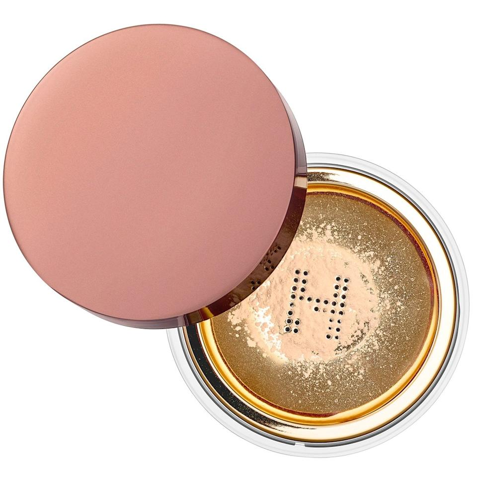 """Talk to any makeup artist, and you'll likely find this setting powder in their kit. That's because one fine layer of this silky, hydrating formula rivals Instagram's Subtle filter (you know, the one <em>every</em> influencer uses). The secret? The formula is infused with light-refracting diamond powder, which gives your skin a glisteny (but not sparkly) blurred finish. I've seen artists use it on a range of skin tones and never has it left a white cast. Skeptical? Read all its five-star reviews. This powder is a winner. <em>—Lindsay Schallon, senior beauty editor</em> $46, Sephora. <a href=""""https://www.sephora.com/product/veil-translucent-setting-powder-P430240"""">Get it now!</a>"""
