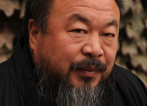 Chinese Artist and government critic Ai Weiwei is pictured in 2010