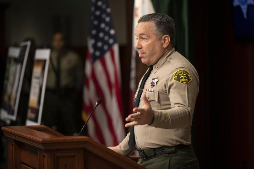Los Angeles Times SOME VOTERS who cast ballots for L.A. County Sheriff Alex Villanueva are now experiencing buyer's remorse.