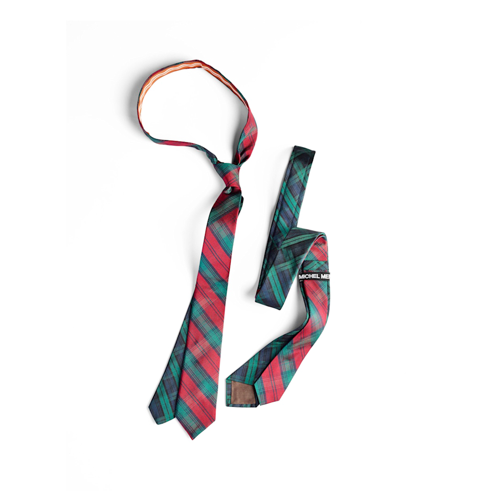 "<p>michelmen.com</p><p><strong>$145.00</strong></p><p><a href=""https://www.michelmen.com/ties/red-plaid-tie"" rel=""nofollow noopener"" target=""_blank"" data-ylk=""slk:BUY NOW"" class=""link rapid-noclick-resp"">BUY NOW</a></p><p>If Dad has enough plain black and ties, this plaid tie will add a fun pop of color to his wardrobe. </p>"