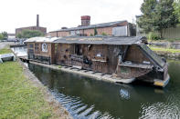 <p>HISTORIC:<br>Piano Raft – owned by Ben Cummins in West Yorkshire, Saltaire (Picture: Shed of the Year) </p>