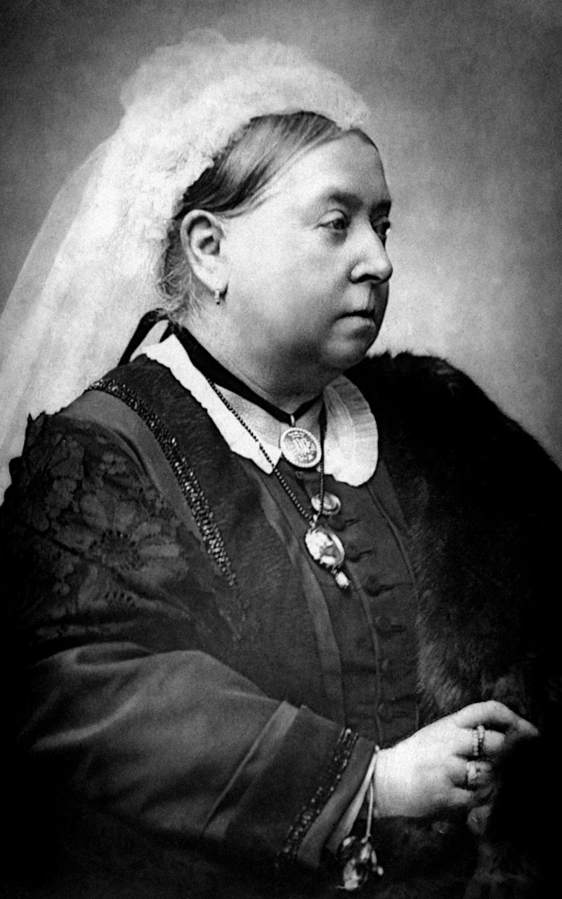 Handout photo dated 1890 of Queen Victoria - Credit: PA/PA