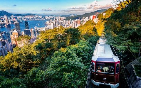 Peak Tram, Hong Kong - Credit: This content is subject to copyright./Ines Lee Photos
