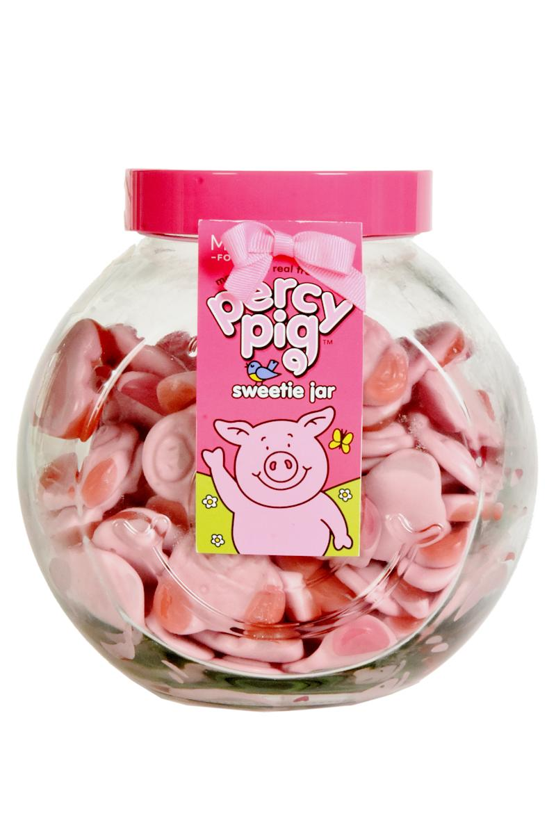 The 1kg jar of Percy Pigs costs £15. (M&S)