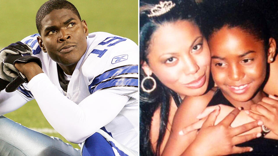 Keyshawn Johnson's daughter Maia, pictured here before her tragic death.