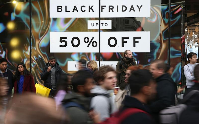 Which? tracked the prices of 94 products for the six months before and after Black Friday and found that nearly two thirds were cheaper at other points in the year - AFP