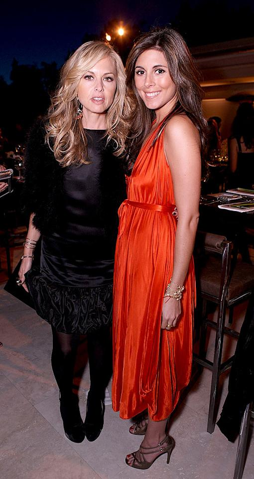 """Stylist-to-the-stars Rachel Zoe sports an entirely black ensemble, while her gal pal Jamie-Lynn Sigler brightens up the room in a cute, flowing frock. Chris Weeks/<a href=""""http://www.wireimage.com"""" target=""""new"""">WireImage.com</a> - March 20, 2008"""