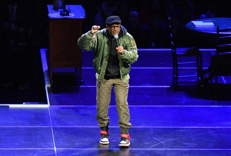 Director Spike Lee, seen here in New York City in February 2020, paid tribute to black victims of police violence with his latest movie at the Toronto film festival
