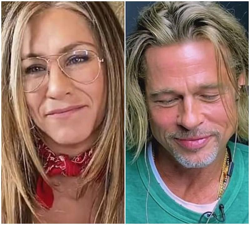 Jennifer Aniston and Brad Pitt (Photo: Instagram)