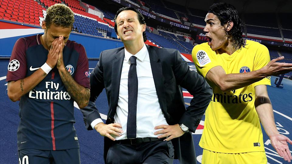 Unai Emery is heading for a PSG exit before the January transfer window opens.