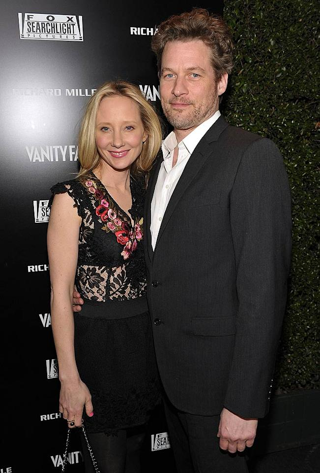 "Also getting in on the pre-Oscars action were former ""Men in Trees"" co-stars -- and real life couple -- Anne Heche and James Tupper. Do you think Anne's embroidered lace top is hot ... or not? John Shearer/<a href=""http://www.gettyimages.com/"" target=""new"">GettyImages.com</a> - February 24, 2011"