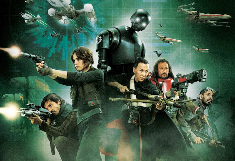 New Star Wars: Rogue One Artwork and Character Names Revealed