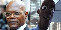 """<p>As the superhero Frozone, Samuel L. Jackson delivered one of the 2004 movie's <a href=""""https://www.youtube.com/watch?v=x2qRDMHbXaM"""" rel=""""nofollow noopener"""" target=""""_blank"""" data-ylk=""""slk:most memorable lines"""" class=""""link rapid-noclick-resp"""">most memorable lines</a>: """"Honey, where's my super suit?"""" Jackson again voiced the part in the sequel.</p>"""