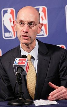 NBA deputy commissioner Adam Silver said the league wasn't ready to announce any additional game cancellations