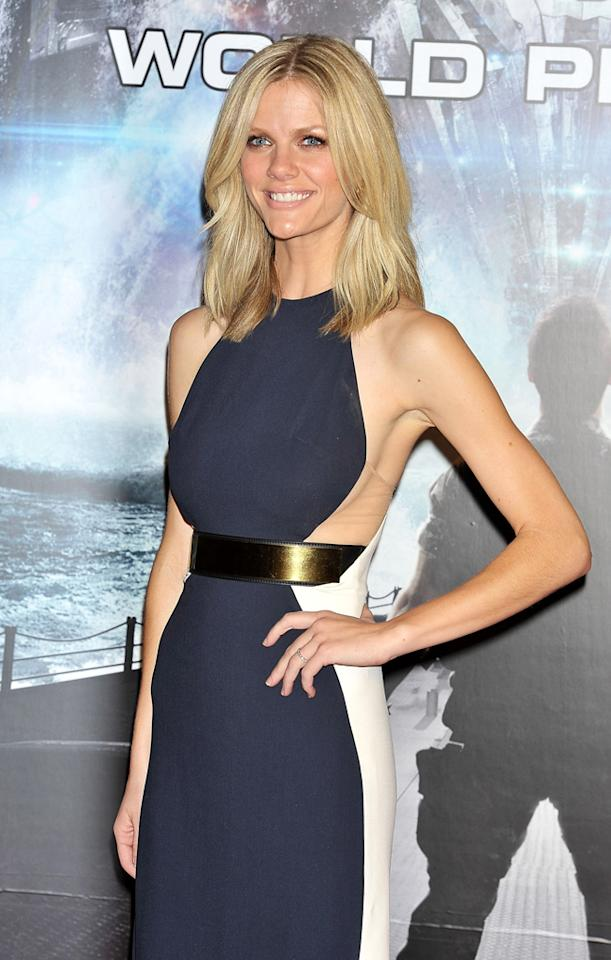 Brooklyn Decker attends the 'Battleship' World premier at Yoyogi National Gymnasium on April 3, 2012 in Tokyo, Japan. The film will open on April 13 in Japan.  (Photo by Jun Sato/WireImage)