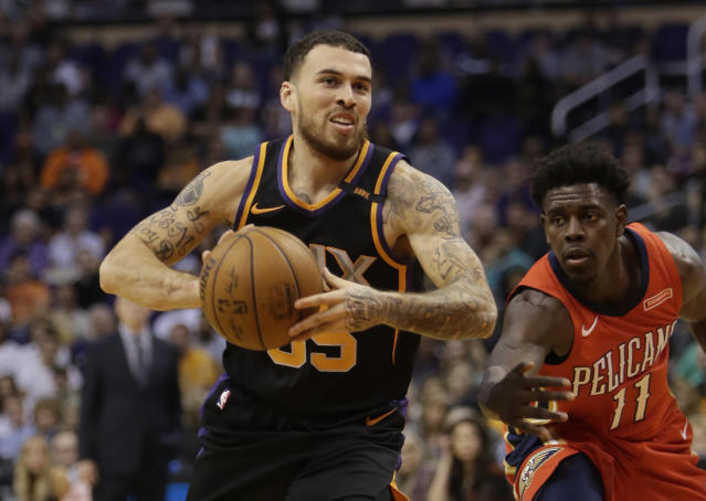"<a class=""link rapid-noclick-resp"" href=""/nfl/players/26812/"" data-ylk=""slk:Mike James"">Mike James</a> played 32 games for the Suns. (AP)"
