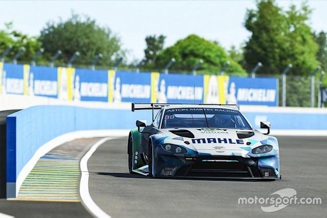 "#67 Mahle Racing Team Aston Martin Vantage GTE: Ferdinand Habsburg, Robert Wickens, Jimmy Broadbent, Kevin Rotting <span class=""copyright"">Williams Esports Williams Esports</span>"