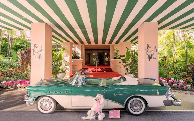 Late check-out, The Beverly Hills Hotel - www.graymalin.com @graymalin